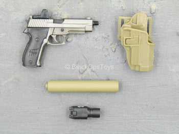 Sully Custom - SIG Sauer P226 Pistol w/Tan Suppressor & Holster