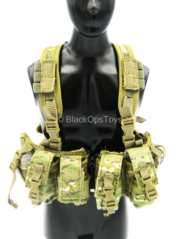 DEA - Multicam 1961A-W Chest Rig w/2659A Assault Pack