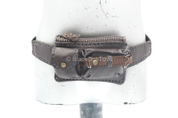 Female Biker Uniform Set - Brown Waist Pack