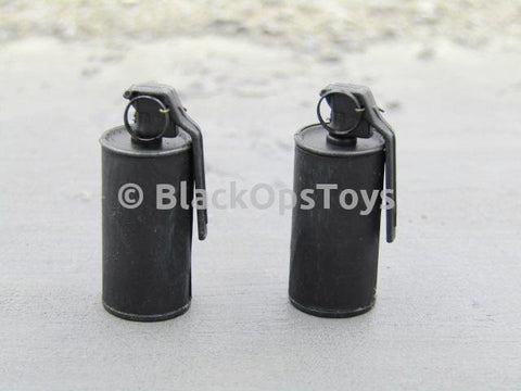 Emerging Force Collectible Complete Black Smoke Grenades x2