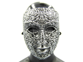 French Crusader General - Metal Face Mask