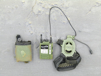 USMC - M249 Saw Gunner - Green Radio w/Pouch & Headset