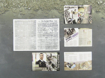 Sniper Elite - Multicam - Newspaper & Magazine Set