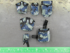 PLA Airborne Trooper - AF Type 07 Pixelated Pouch Set