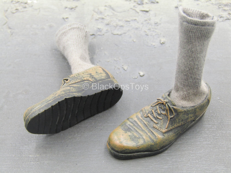 Léon The Professional - Weathered Shoes w/Socks (Peg Type)