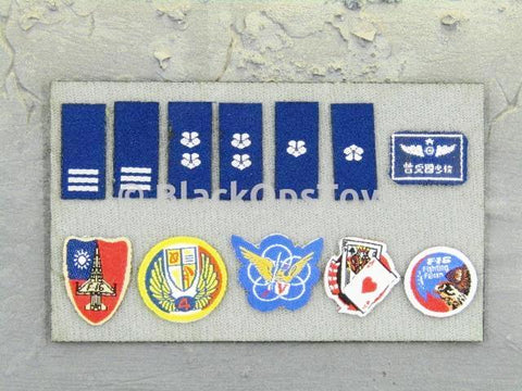 Republic of China Air Force 401st Pilot Patches