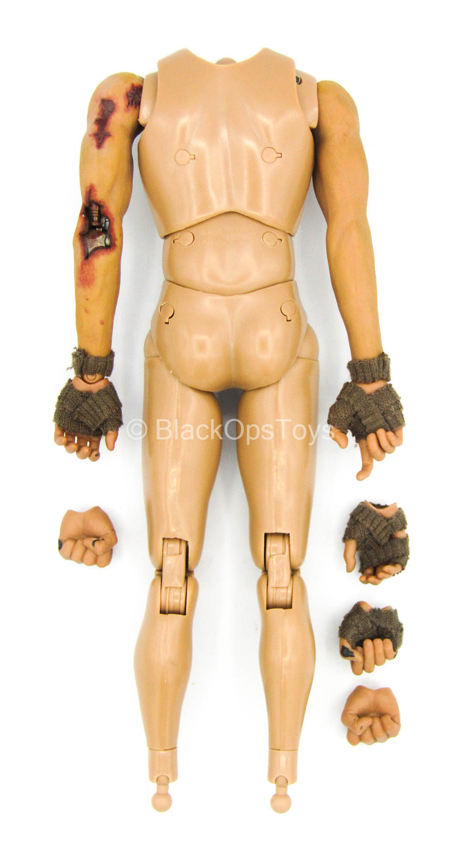 TERMINATOR - Marcus Wright - Male Base Body w/Battle Damage