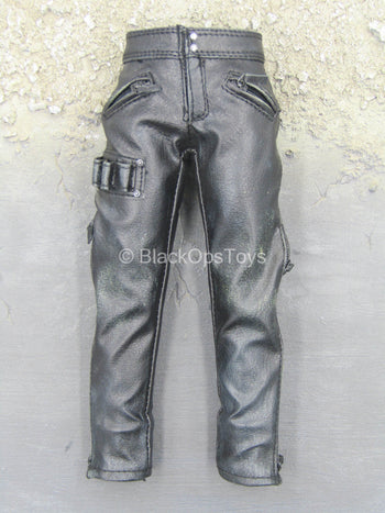 TERMINATOR - Marcus Wright - Black Leather Like Pants