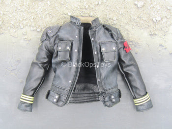 TERMINATOR - Marcus Wright - Black Leather Like Jacket