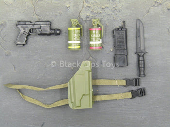 Sniper Elite - Multicam - Black Pistol & Accessory Set