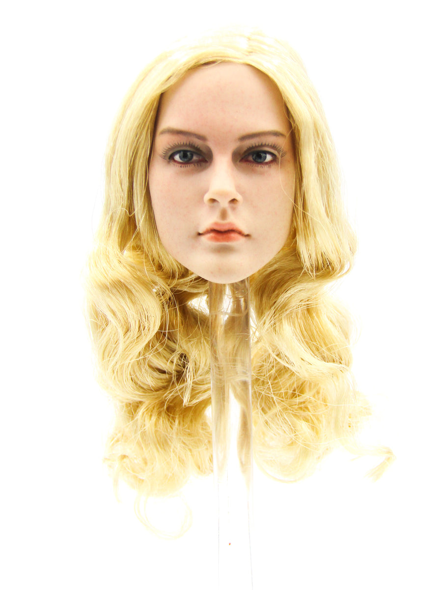 Lightning Warrior - Female Blonde Head Sculpt
