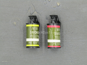 Special Forces - Red & Yellow M18 Smoke Grenade Set