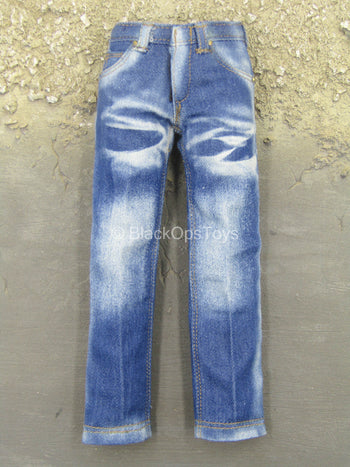 German SEK - Blue Denim Like Jeans