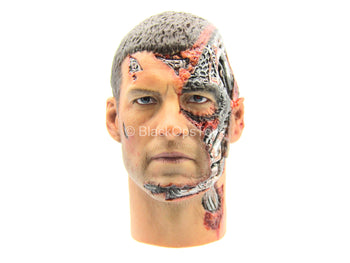 TERMINATOR - Marcus Wright - Male Head Sculpt w/Battle Damage