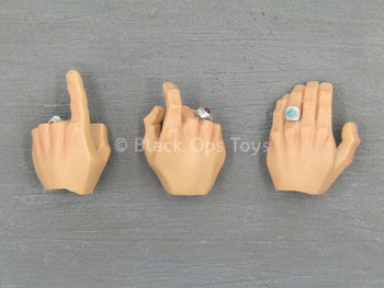 Heart 5 - Bowen - Hand w/Ring Set (x3)