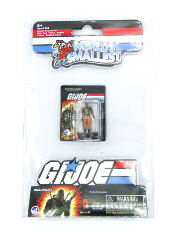 Other Scale - GI JOE - Roadblock - MINT IN BOX