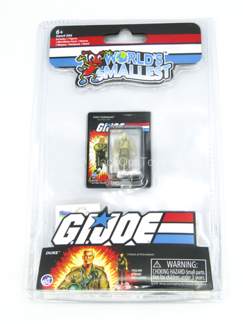 Other Scale - GI JOE - Duke - MINT IN BOX