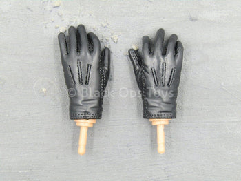 Skull Guard Black - Joel - Black Gloved Hand Set (x2)