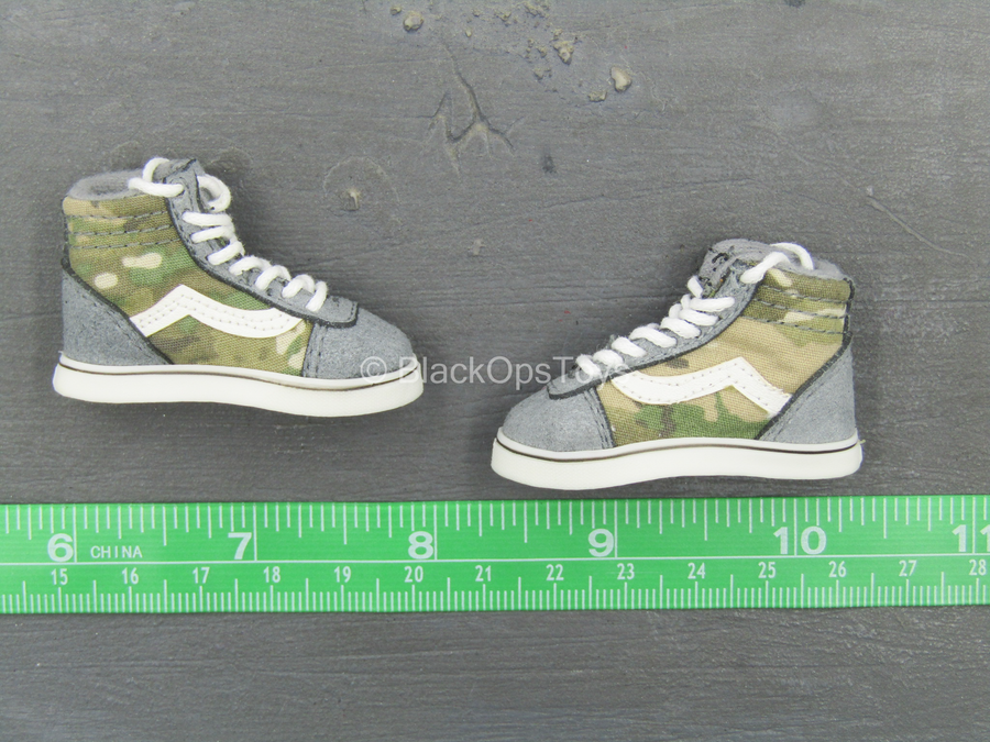 SK8 Shoes - Grey & Multicam (Foot Type)