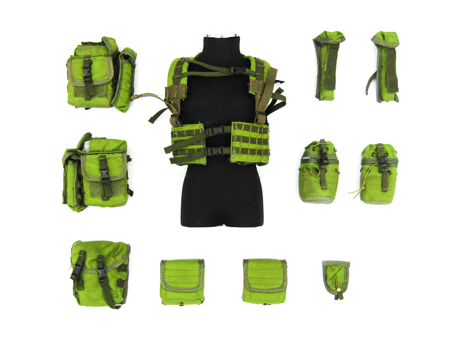 Water Edge Operation - OD Green Flotation Vest w/Pouch Set