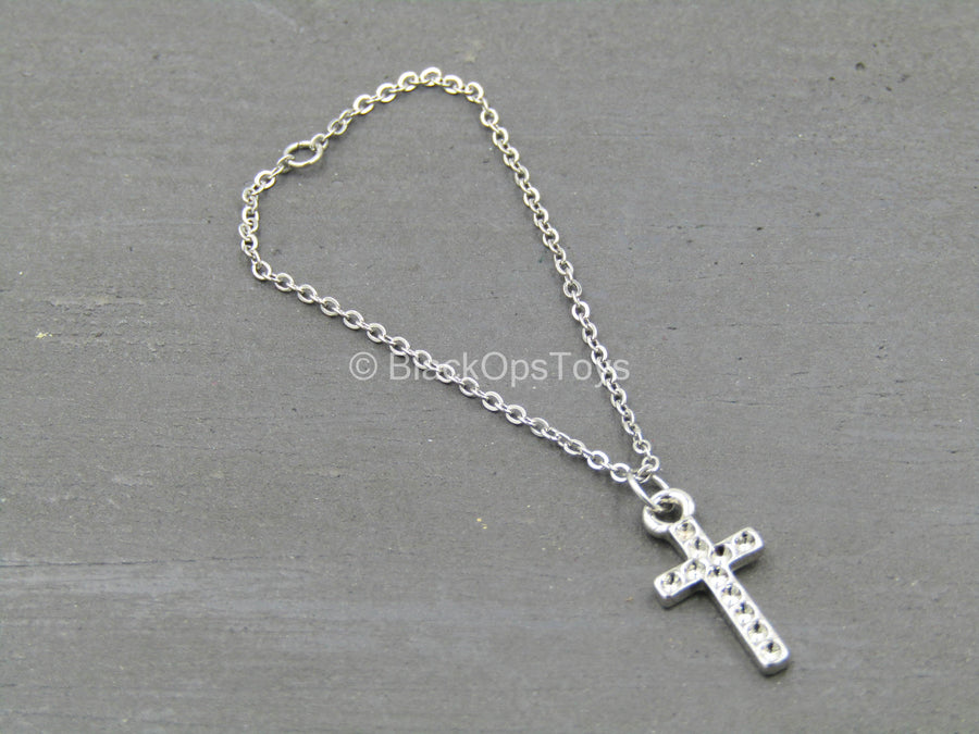 Club 2 - Van Ness SLE - Metal Chain Necklace w/Crucifix
