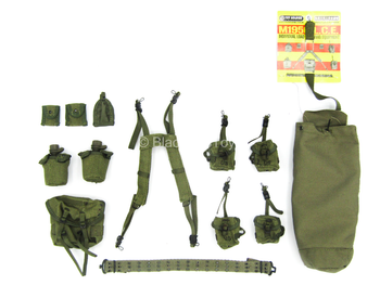 Vietnam Era - OD Green M1956 L.C.E. Gear Set w/Carry Bag