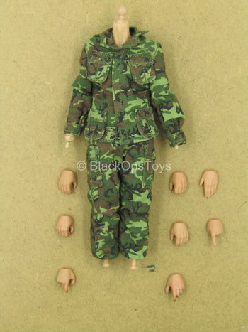 1/12 - Marine Force Recon - Male Dressed Body w/Hand Set Type 2