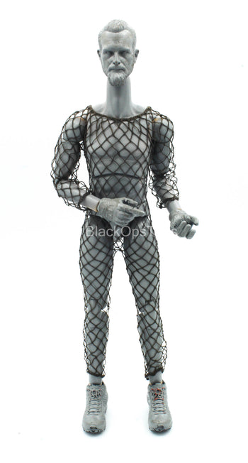 Predator - Male Brown Fishnet Body Suit