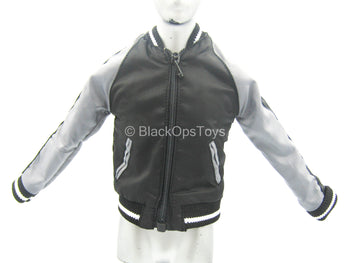 Club 2 - Van Ness SLE - Black & Grey Yokosuka Baseball Jacket