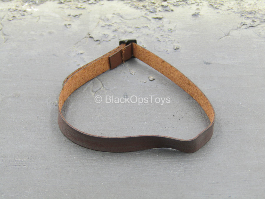 The Barbarian Fighter - Brown Leather Like Belt