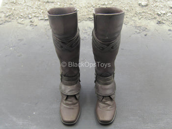 Assassin's Creed 2 - Ezio - Brown Knee-High Boots (Peg Type)