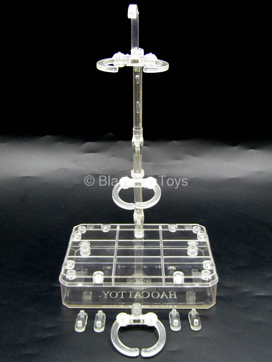 Transparent Base Figure Stand