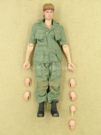1/12 - Vietnam - US Infantry - Male Dressed Body w/Head Sculpt
