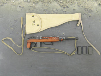 WWII - 101st Airborne Division - M1A1 Carbine Rifle w/Holster