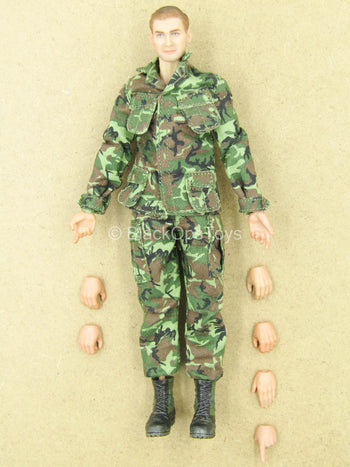 1/12 - Marine Force Recon - Male Dressed Body w/Head Sculpt