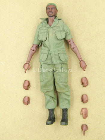 1/12 - Vietnam - M60 Gunner - AA Male Dressed Body w/Head Sculpt