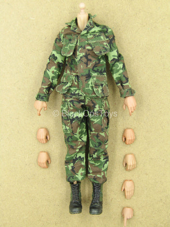 1/12 - Marine Force Recon - Male Dressed Body w/Hand Set