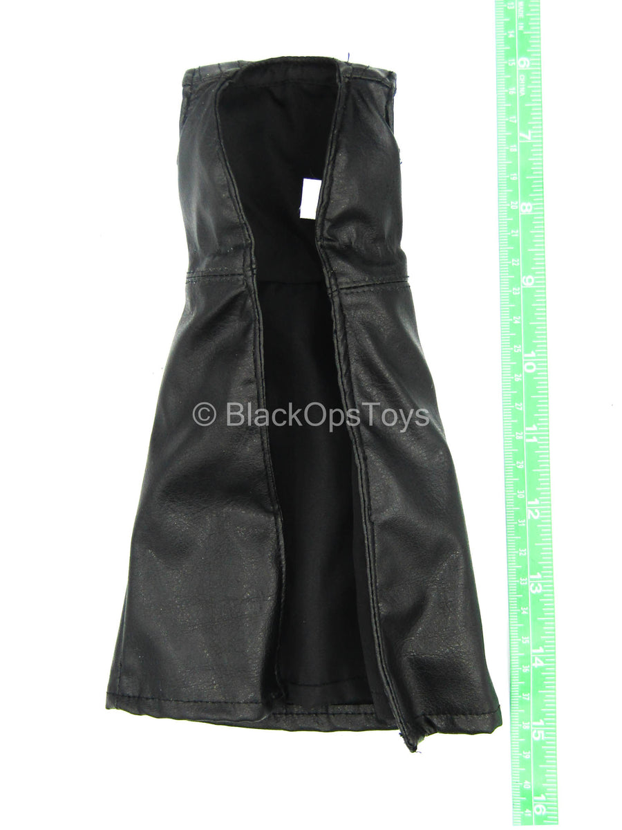 Andromeda - Tyr Anasazi - Black Leather-Like Long Sleeveless Jacket