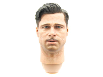 Inglorious Bastards - Aldo Raine - Male Head Sculpt w/Hand Set