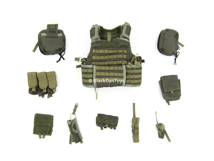 75th Ranger Regiment In Afghanistan Molle Body Armor & Pouches Set