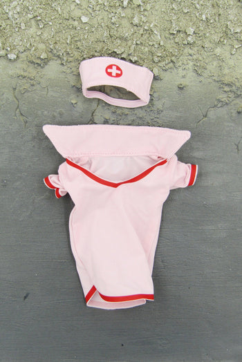 Sexy Nurse Female Pink Uniform Set