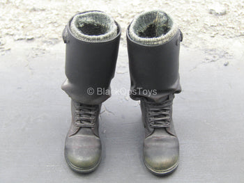 Inglorious Bastards - Aldo Raine - Black Boots w/Socks (Peg Type)