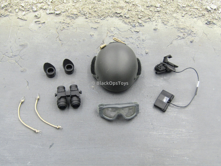 75th Ranger Regiment In Afghanistan MICH 2000 Helmet & Goggles Set