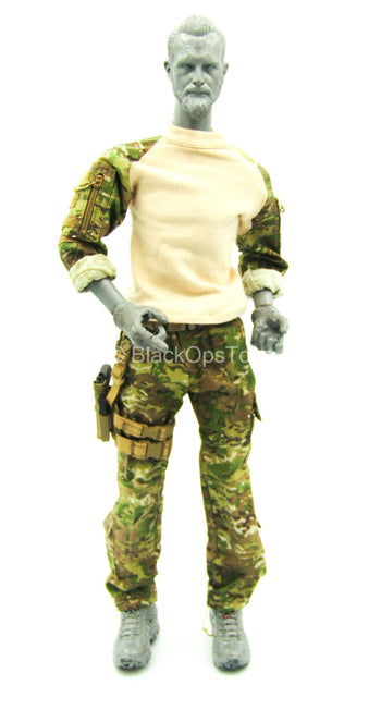 Multicam Uniform Set w/Pistol & Drop Leg Holster