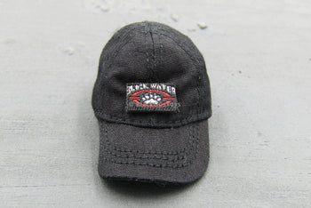 Tactical Female Shooter Black Hat w/Removable Patch