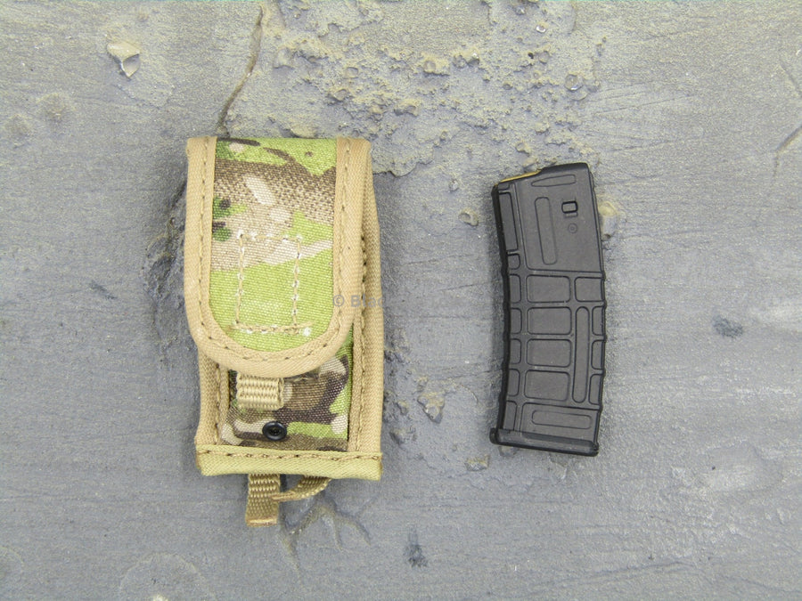 US Army in Afghanistan Jude Law Multicam Mag Pouch & M4 Mag