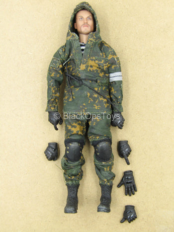 1/12 - Spetsnaz Grenadier - Male Dressed Body w/Head Sculpt