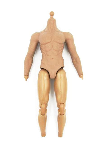 MomToys Zombie Hunter Resident Evil Nude Male Muscle Body