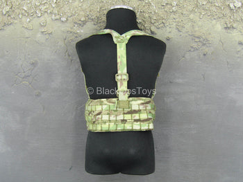 British Marine - Kabul Security - MTP Camo MOLLE Back Rig