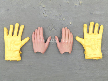 WWII - 101st Airborne Division - Hand Set w/Yellow Gloves
